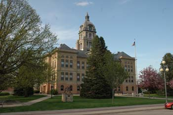 Vinton, Iowa Courthouse