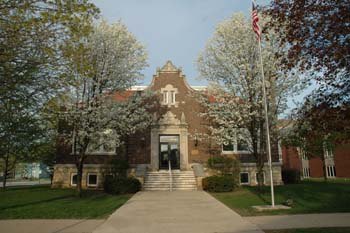 Vinton, Iowa Library