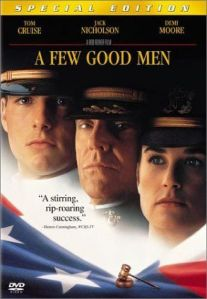 a few good men power essay Mitchell hobot 1/13/13 3rd hour a few good men a dispute between a few good by extension the corrupted power of the a few good men essay.
