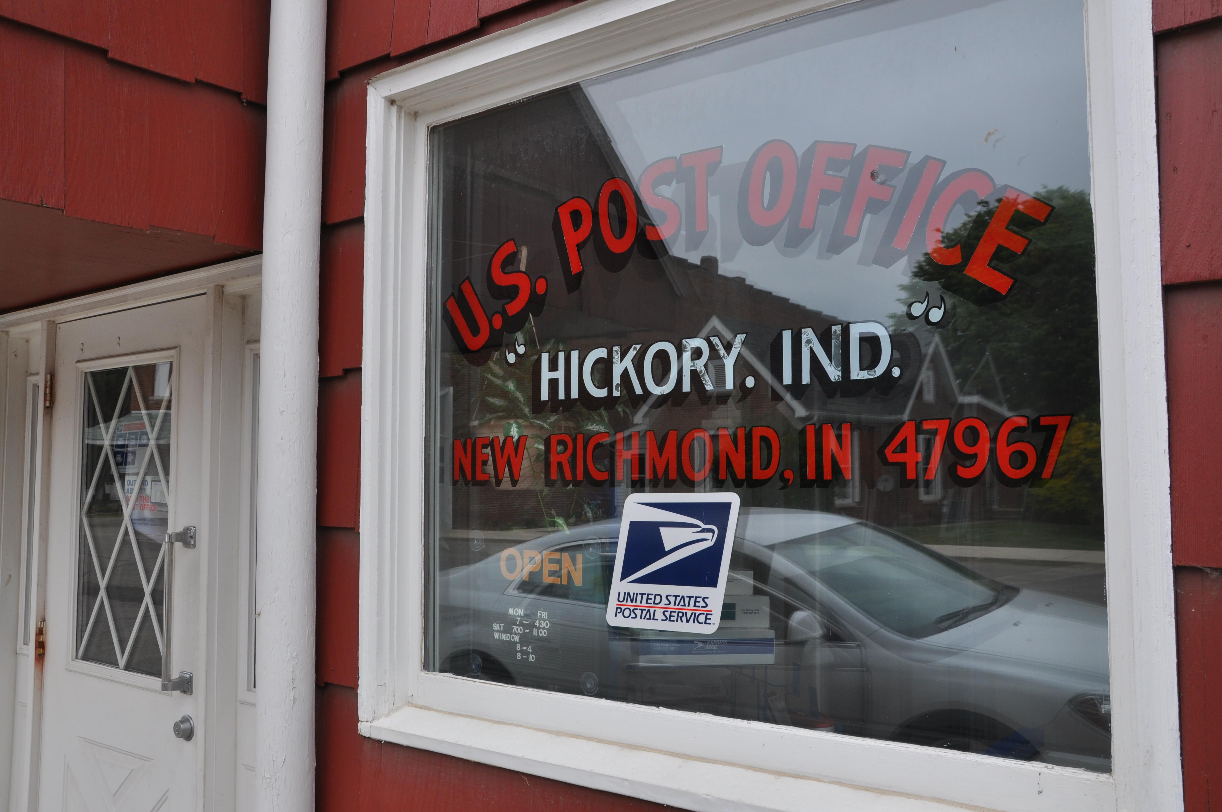 Postcard #14 (Hickory, Indiana)   Screenwriting from Iowa