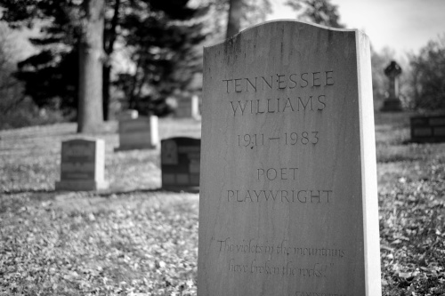 Tennessee Williams Gravesite