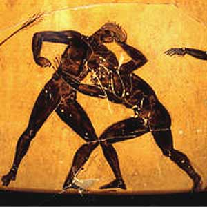 Ancient-wrestling