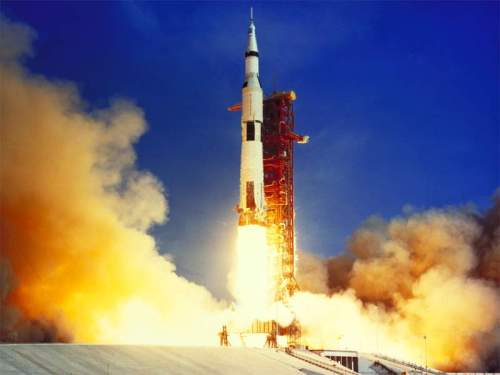 Apollo 11 Liftoff July 16,1969
