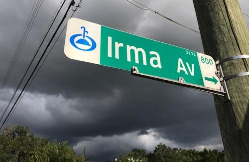 IrmaStreetSign